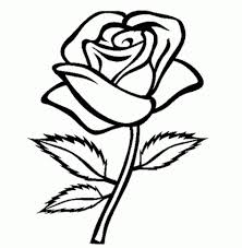 Small Picture Coloring Pages Simple Flower Coloring Pictures Printable Coloring