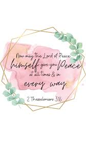 Peace Bible Verse Wallpaper