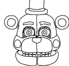 Coloring Pages Of Mangle And Foxy Coloring Sheets Foxy Pages Unique