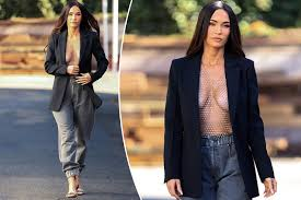 Check out dating history, relationships status and compare the info. Megan Fox Turns Heads In Boob Baring Rhinestone Look