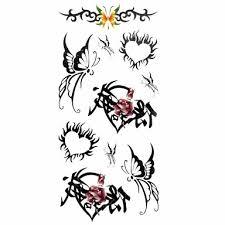 099 1 Vzor Spodní část Zad Waterproof Zvířecí řada Tetovací Nálepky