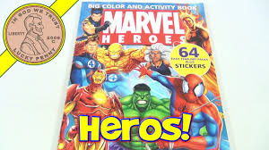 Tentacles of doctor octopus in action. Marvel Heroes Coloring Book 2005 Fantastic Four Spiderman Hulk Thing Wolverine Youtube
