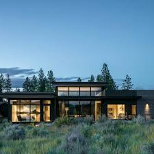 architecture houses. Contemporary Houses High Desert Modern House In Oregon Is Designed To Be  With Architecture Houses