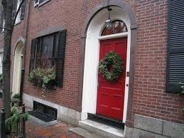 red front door on brick house. Front Door Color For Brick House Red On T