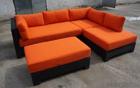 garden sofa sets with colorful