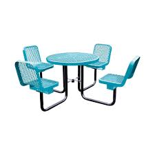 36 round portable table 3 chairs