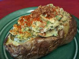 originally i got the recipe for some twice baked potatoes from my mcdougall book but as is the trend with many of his recipes
