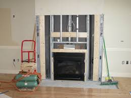 installing a fireplace mantle and gas fireplace with mantle