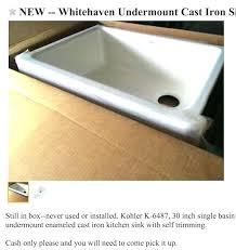 kohler whitehaven sink farmhouse sink kohler whitehaven 36 installation