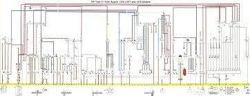 vw bus wiring diagram thesamba com karmann ghia diagrams 1970 71 1974 VW Beetle Wiring Diagram diagram vw bus wiring baybus 77 beetle type 71 free diagrams symbols diagnoses full