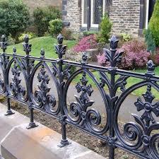 cast iron pedestrian gate