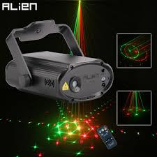 Alien Mini Remote Rg 24 Patterns Stage Disco Laser Light Projector Dj Dance Party Holiday Bar Club Christmas Lighting Effect Lighting For Stage Small