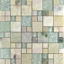 crystal glass tile sheets stone mix glass mosaic wall tiles glass mosaic designs for bathroom wall
