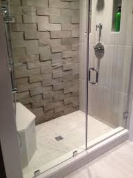 Accent Wall Bathroom Zciiscom Tile Shower Accent Wall Shower Design Ideas And
