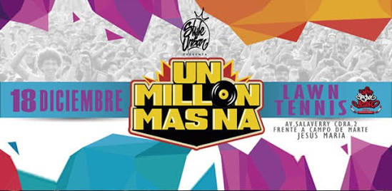 Evento UnMillonMasNa es cancelado