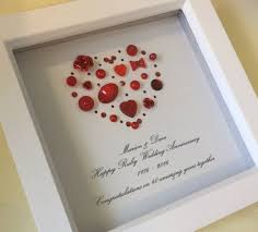 40th anniversary ruby gifts 55 best 40th anniversary gift ideas images on 40th wedding