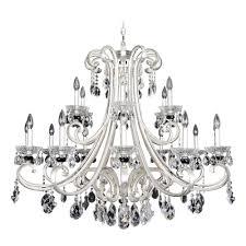 allegri lighting bedetti 18 light crystal chandelier 023953 017 fr001