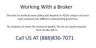 No Medical Life Insurance Quotes Inspiration Life Insurance Quotes No Medical Exam Ostravauradprace