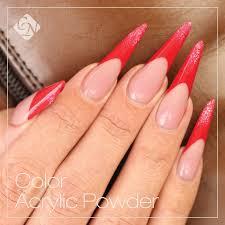 mercury color powder brilliant powder acrylics nails