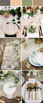 Wedding Table Setting Decoration Ideas For Reception