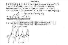 Алгебра Контрольная работа Вариант ГДЗ Тест контроль  Алгебра Контрольная работа 4 Вариант 1 1