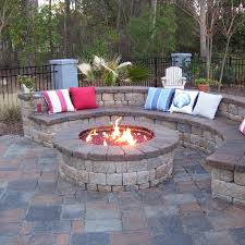luxury outdoor glass fire pit rocks pits for decorations 7