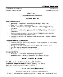 Customer Service Sales Resume - Eco-Zen.info