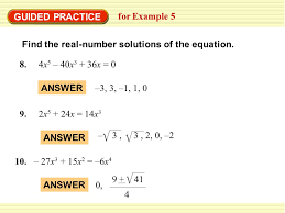 standardized test practice 3 guided