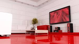 futuristic living room with red architecture awesome kitchen design idea red