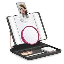 Spotlite <b>HD</b> 2.0. Cordless Ultra-Bright Light <b>Makeup Mirror with</b> 10x