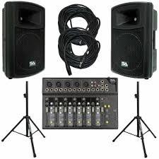 sound system. 2 speaker sound system systems l