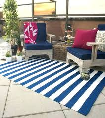 blue and white outdoor rug shocking striped giffun interior design 42