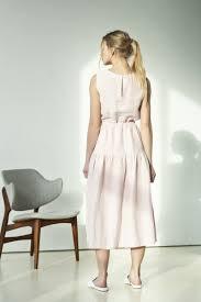 Light Pink Linen Dress New Pink Linen Wedding Dress Pink Summer Linen Dress