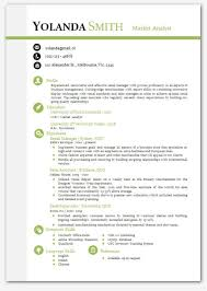 Modern Resume Template Word Fascinating Gallery Of Cool Looking Resume Modern Microsoft Word Resume Template