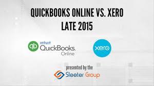 Xero Vs Quickbooks Quickbooks Online Vs Xero Late 2015 Youtube
