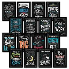 Cute Growth Chart Sayings Growth Mindset Posters Amazon Com