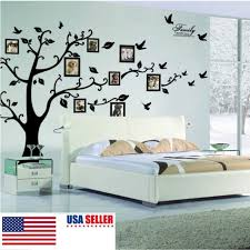 family tree wall decal mural sticker diy art removable vinyl home decor 60x90cm