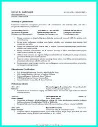 Construction Project Manager Resume Examples Cool Construction Project Management Resume Examples Assignment Managment