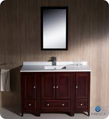 fresca oxford 48 traditional bathroom vanity mahogany finish custom bathroom vanity countertops with sink