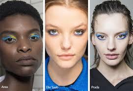 fall winter 2018 2019 makeup trends blue eye makeup