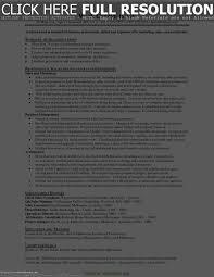 Coordinator Resume Objective Resume Work Template