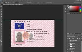 Blank With Florida Colorado Plus Professional Or Texas Leroyaumedumonde Template Licence Download Psd Drivers License California com Uk Together Free