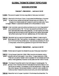 global history thematic essay topic body outline example