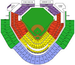 Chase Field Az Seating Chart Arizona Diamondbacks Baseball Map Mlb Stadium Map Dbacks Az