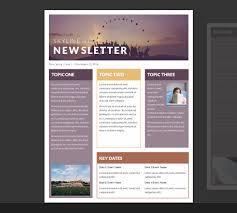 School Newspaper Template Publisher 15 Free Microsoft Word Newsletter Templates For Teachers School