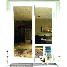 exciting door with dog door built in sliding glass door dog door sliding glass door with