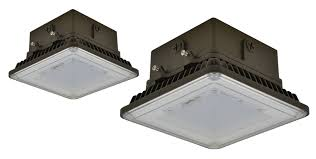 c lume led architectural canopy lighting fixture