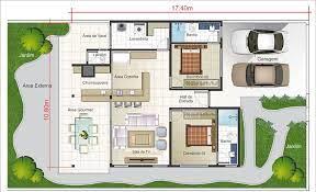 Planta de sobrado com piscina e deck. Plantas De Casas Com 2 Quartos 80 Projetos E Plantas Para 2021