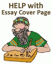 What Is A Cover Page For An Essay Essay Cover Page Writing Help Cover Page Format Apa Cover