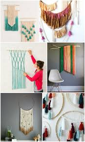 best 25 yarn wall art ideas